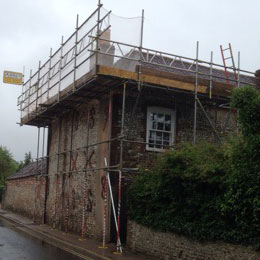 Domestic Scaffolding in Sussex and Hampshire